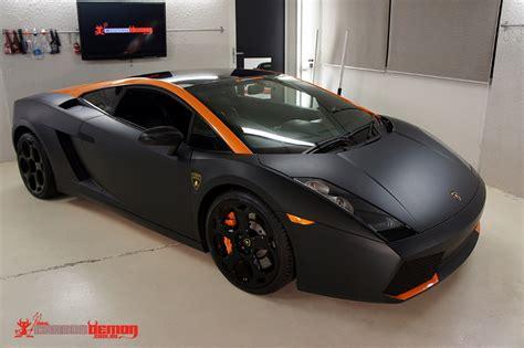 lamborghini gallardo matte black vinyl wrap carbon demon