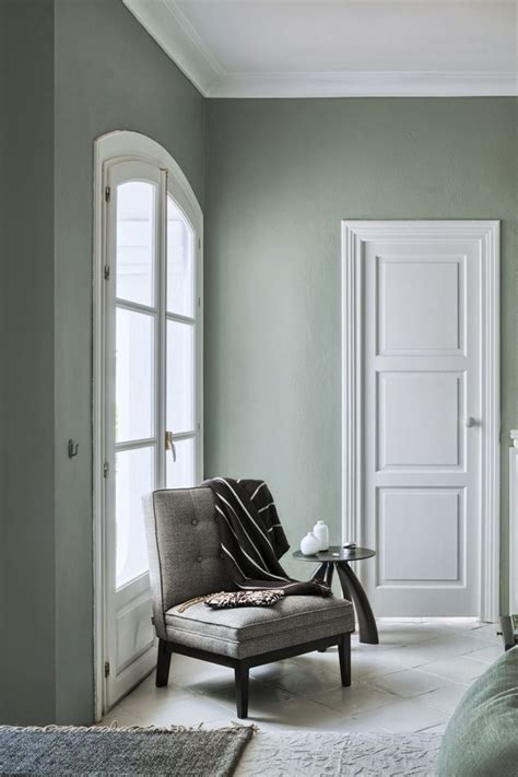 wall colour combination with green living room colors