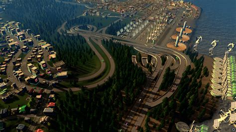 Qianchun Interchange by An Interchange Worth Citiesskylines