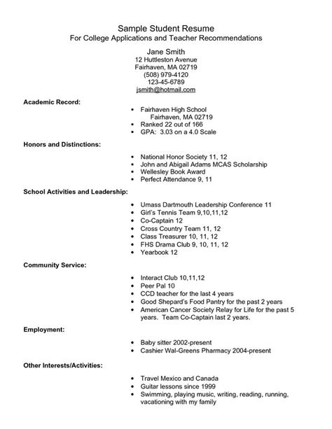 college application resume template task list templates