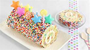 Confetti Cake Roll recipe from Betty Crocker