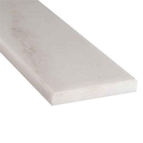 carrara marble threshold arabescato cararra 4x24x0 625 polished double beveled thresholds mosaics