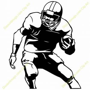 Football Player Clip Art Pictures to Pin on Pinterest ...