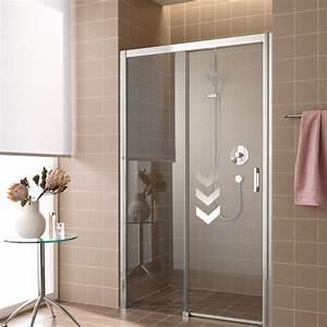 porte de douche coulissante sans seuil rothalux With porte de douche coulissante avec radiateur a eau salle de bain