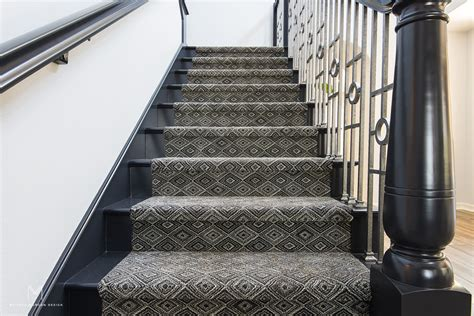 Pattern-carpet-on-stairs-melissa-morgan-design Carpet One Huntsville Ontario Oscars Opening Ceremony Live From The Red 2017 Town Country Premium Care Best Plants For Beginners Sears Cleaning Brooklyn Ny Get Cat Stains Out Of How To Rid Old Urine On Marks Medina Ohio