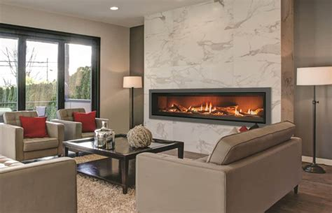 enviro  linear gas fireplace