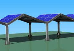tettoie fotovoltaiche prodotti e kit mech strutture in acciaio
