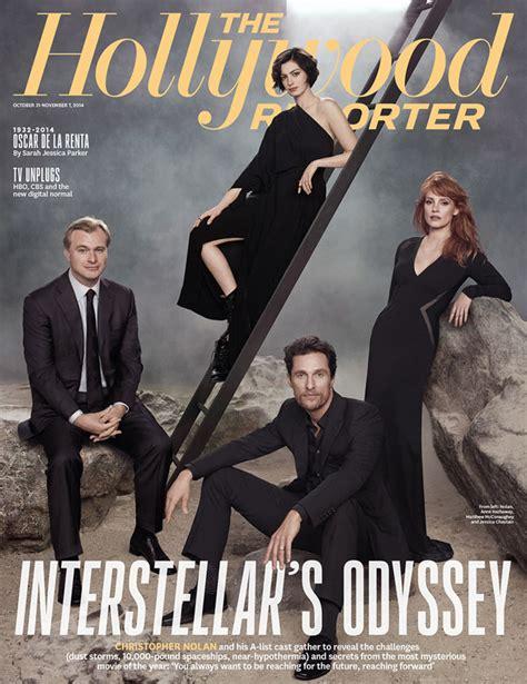 """""""Interstellar"""" Stars Anne Hathaway & Jessica Chastain ..."""