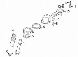 Ford Taurus X Mount  Bracket  Bushing  2wd  Fwd
