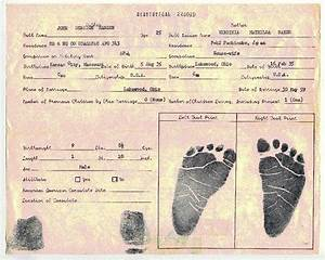 the van winkle project the drip drip drip of the news With real birth certificate template