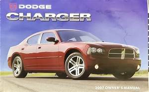 2007 Dodge Charger Owners Manual Handbook  Original Dodge