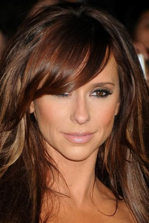 rich brown hair color brown hairstyles with highlights