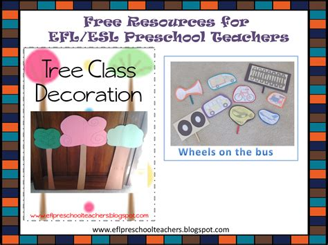 esl efl preschool teachers free resources for efl esl 268 | free11