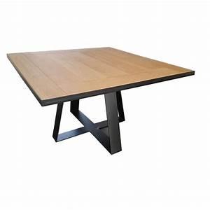Table De Salle Manger Carre Tolbiac Rallonges Dco