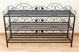 Schuhregal Aus Metall : schuhregal mi 3 regal 92cm schuhschrank 21235 schuhablage metall schmiedeeisen kaufen bei ~ Whattoseeinmadrid.com Haus und Dekorationen