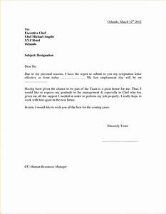 Quit Letter Format Choice Image  letter format formal example