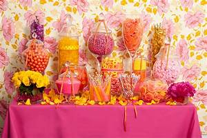 Hot Pink Candy Buffet — Candy Buffets — Wedding Candy