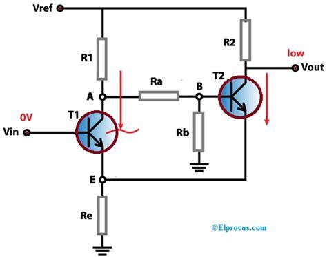 Schmitt Trigger Working With Transistors