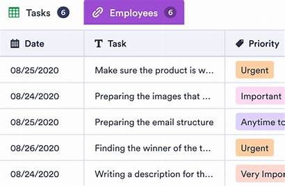 Task Daily Prioritized Template Employee Jotform Templates