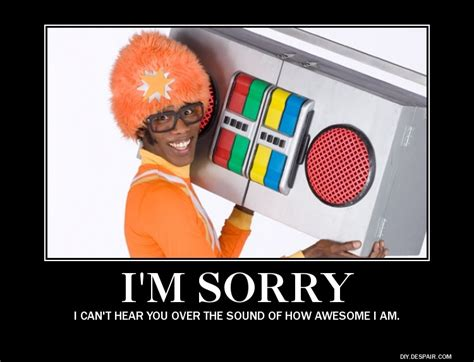 D.J Lance Rock, from Yo Gabba Gabba. | I'm sorry, I can't hear you over the sound of how awesome ...