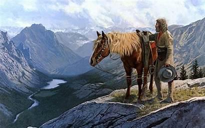 Wild West Wallpapers Desktop Cowboy Horse Nature