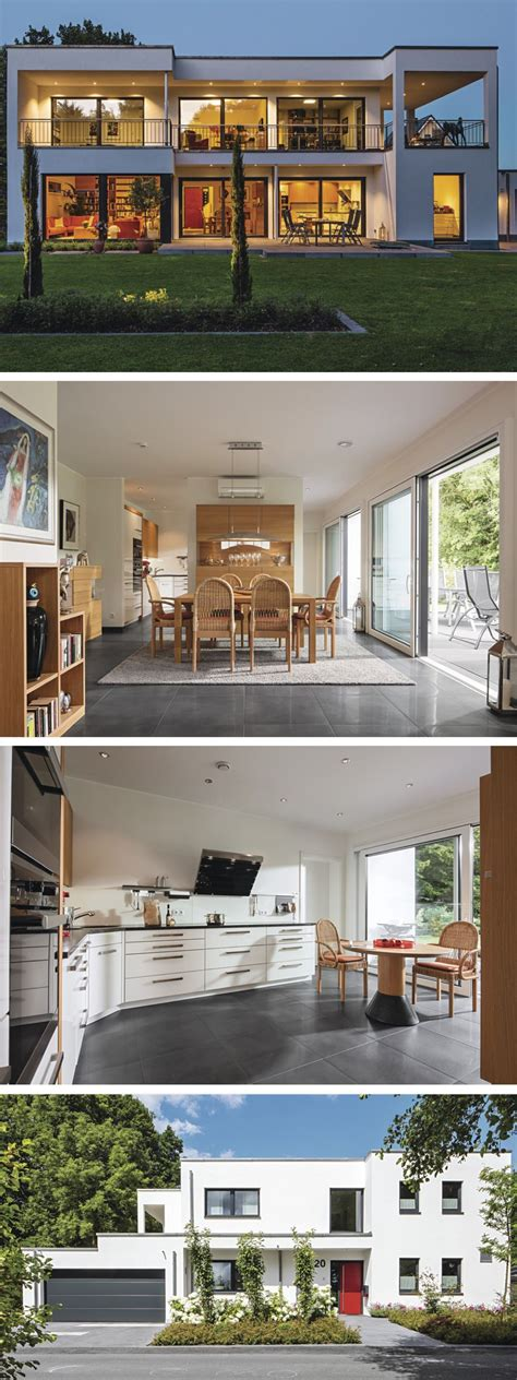 Moderne Häuser Usa by Moderne Stadtvilla Im Bauhausstil Fertighaus