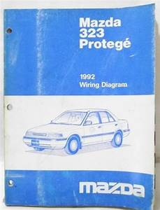U0026 39 1992 Mazda Protege 323 Wiring Diagram Schematics Shop