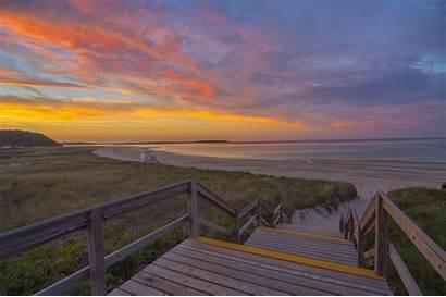 Beach Crane England Ipswich Massachusetts Boston Sunset