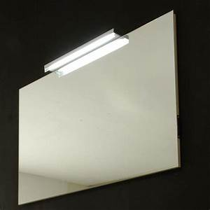 miroir de salle de bain rectangulaire 120x75 cm avec lampe With miroir sdb avec prise