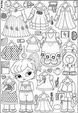 Paper Dolls Printable Bambole Snoopy Carta Ak0 Princess Frozen Barbie Doll Papel Pagine Stampabili Adulti Colorare Vestiti Burattini Bianco Nero sketch template