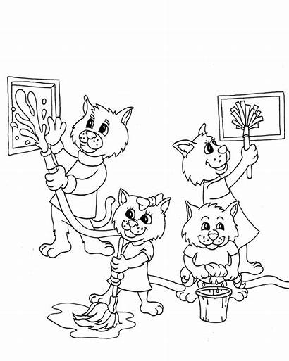 Coloring Pages Cleanitsupply Printable Condiments