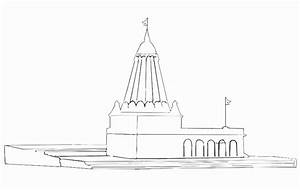 Stock Pictures: Temple Outlines and Sketches