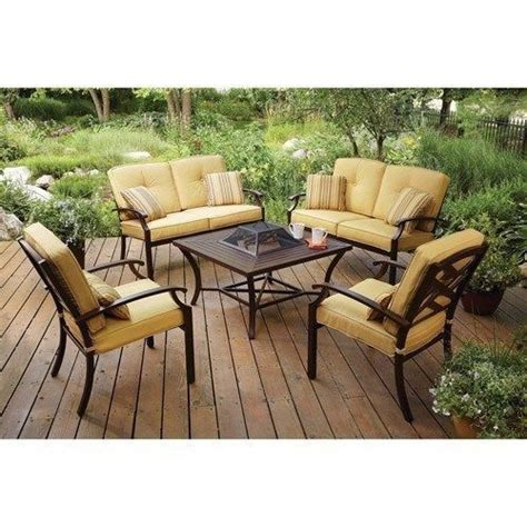 new 5 patio conversation set pit patio