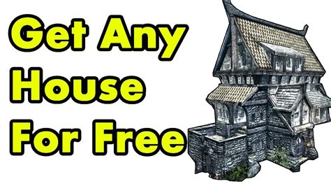 How To Get A House In Riften by Skyrim How To Buy Any House For Free