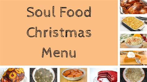 With this collection of christmas dinner recipes you'll be able to show off your cooking talents to the entire family. Soul Food Christmas Menu - Traditional Southern Recipes