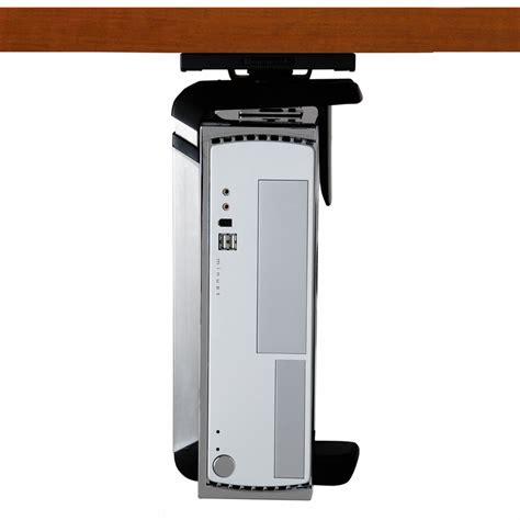 humanscale desk cpu holder humanscale cpu600 cpu holder