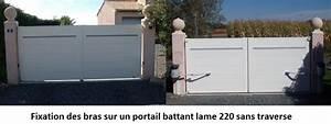 Fixation Portail Battant : comment choisir un portail en aluminium le portail alu ~ Premium-room.com Idées de Décoration