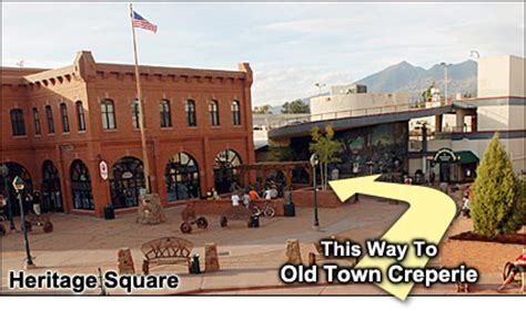 Location - Flagstaff Restaurant - Old Town Creperie