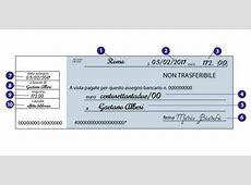 Come compilare un assegno senza errori