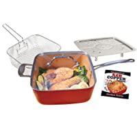 copper chef pan  red copper     cookware