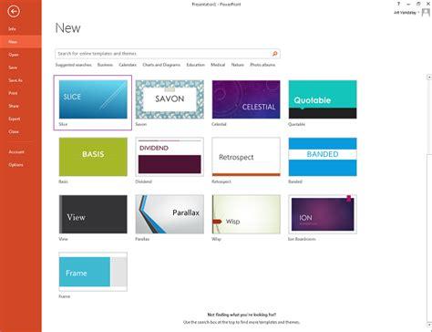 Using Slide Design Templates