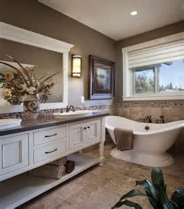 master bathroom color ideas winlock parade home master bath spa like master bathroom with pedistal tub and furniture