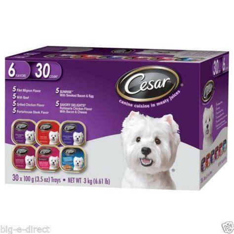cesar dog food ebay