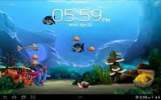 Free Laptop Live Wallpaper Fish