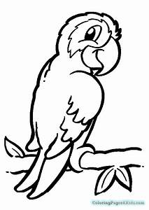 Coloring Pages For Kids Animals Realistic Animals In The ...