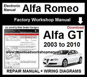 Alfa Romeo Alfa Gt Service Repair Manual