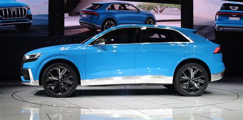 audi q8 concept revealed photos 1 of 20