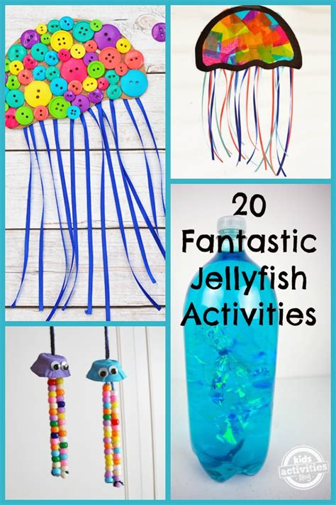 fantastic jellyfish activities   ages