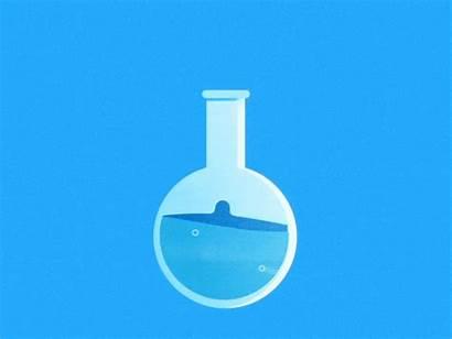Lab Science Testing Water Laboratory Analysis Animation