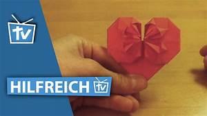 Herz Falten Origami : how to profi origami herz falten 3d origami herz falten wie profis anleitung youtube ~ Eleganceandgraceweddings.com Haus und Dekorationen